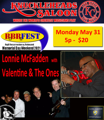 Lonnie McFadden with Valentine & The Ones - R&B Fest