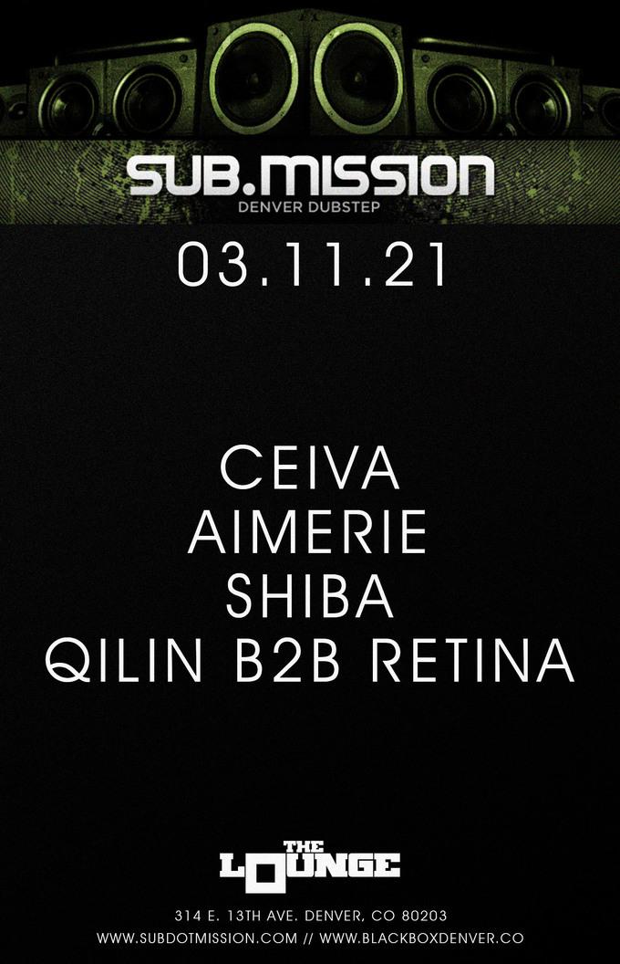 Sub.mission Takeover: Ceiva, Aimerie, Shiba, Qilin B2B Retina