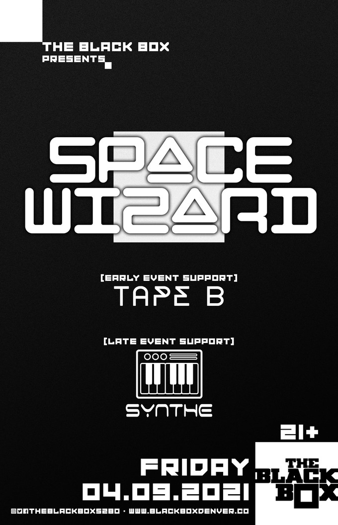 Space Wizard w/ Tape B (Early Event)