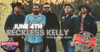 Reckless Kelly with Special Guests Micky & The Motorcars