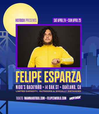 FELIPE ESPARZA @ Nido's Backyard (Sun April 25th)