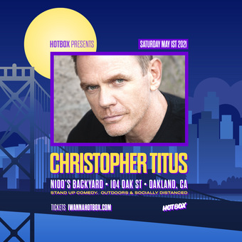 CHRISTOPHER TITUS @ Nido's Backyard (Sat May 1st)