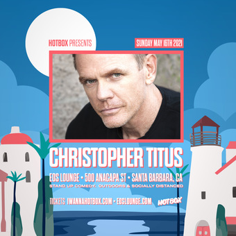 CHRISTOPHER TITUS @ EOS Lounge (Sun May 16)