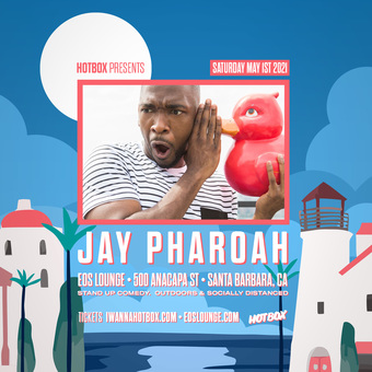 JAY PHAROAH @ EOS Lounge (Sat May 1st)