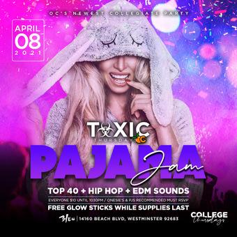 COLLEGE THURSDAYS OC - PAJAMA JAM PARTY @ BLEU Nightclub 18+