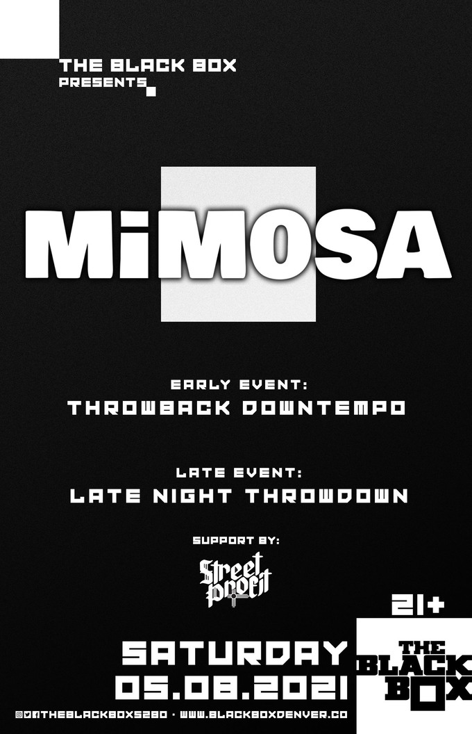 MiM0SA - Throwback Downtempo w/ Street Profit (Early Event)
