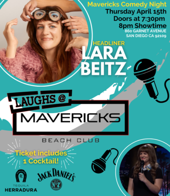 Comedy Night At Mavericks with Lara Beitz