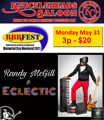 Randy McGill and Eclectic - R&B Fest