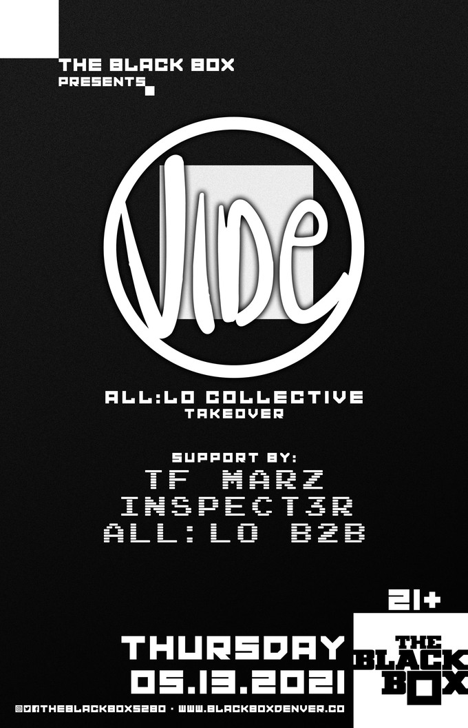 all:Lo Takeover: Vide + TF Marz, Inspect3r, all:Lo B2B