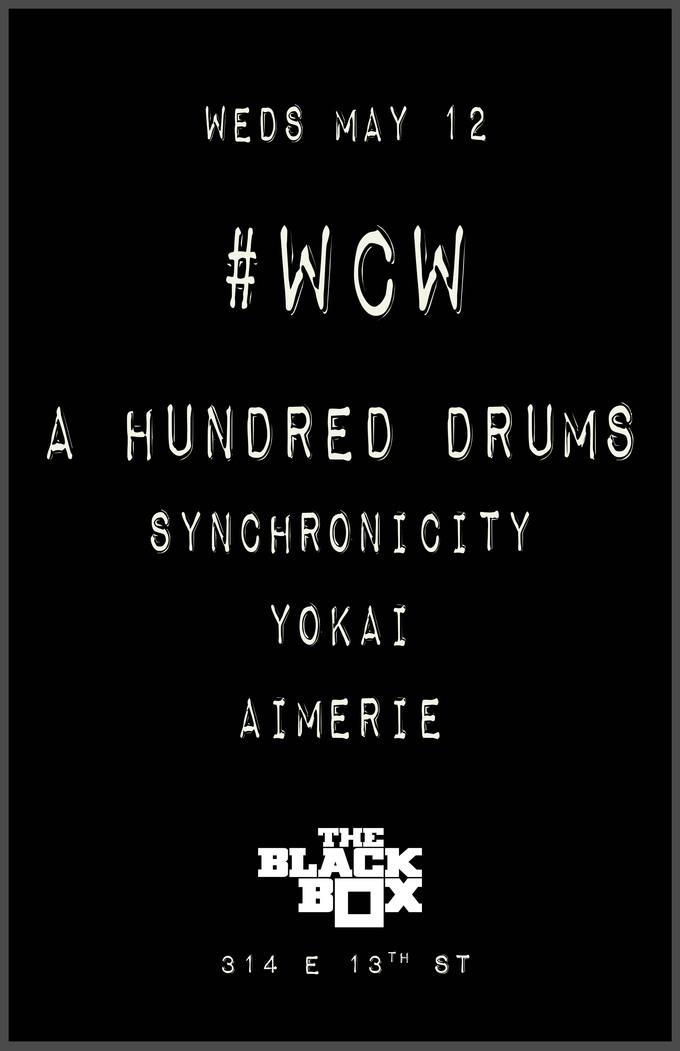WCW: A Hundred Drums, Synchronicity, Yokai, Aimerie