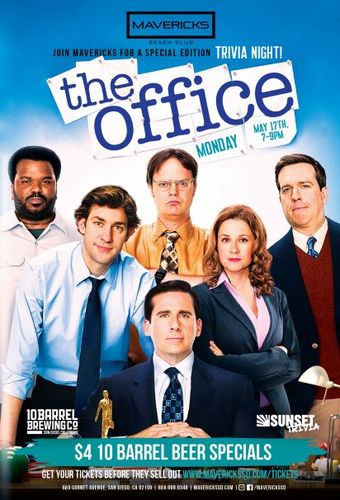 Mavericks Presents: The Office Trivia Night