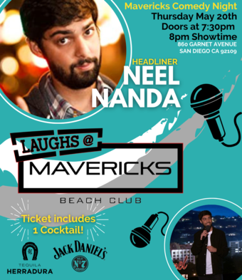 Comedy Night At Mavericks with Neel Nanda