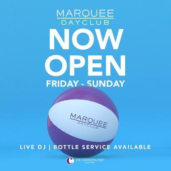 Marquee Dayclub Saturday