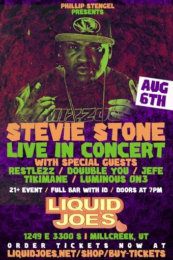 Stevie Stone Live in Concert