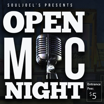 Open Mic at SoulJoel's Comedy Dome