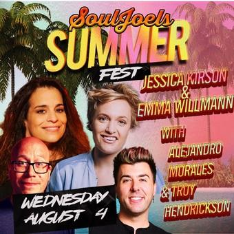 Jessica Kirson & Emma Willmann Double Headline at SoulJoel's Comedy Dome