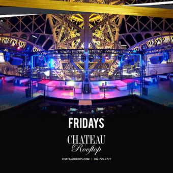 Chateau Rooftop Friday Night
