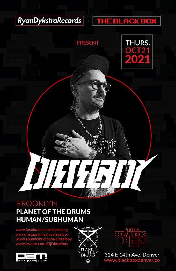 Dieselboy - A Night of Drum & Bass
