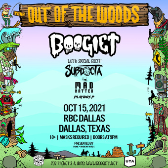 Boogie T: Dallas Out Of The Woods Tour