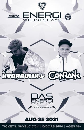 ENERGI WEDNESDAYS : Hydraulix & Conrank