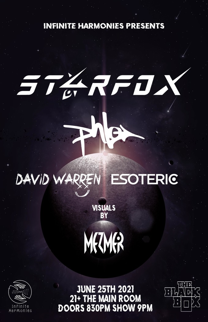 ST4RFOX, phLo, David Warren, ESOTERIC w/ Mezmer on visuals