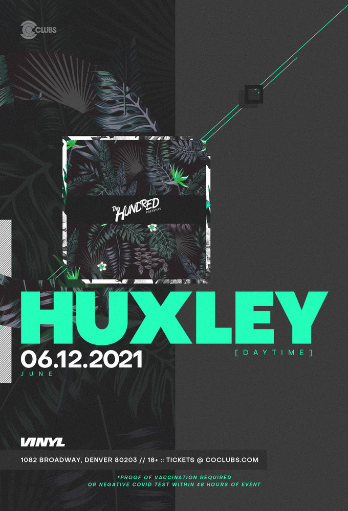 Huxley - Daytime Rooftop Party