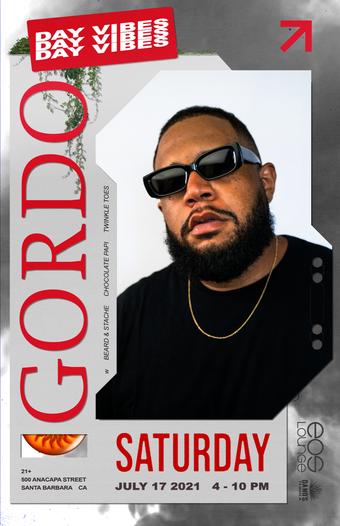 GORDO (Carnage) at Lot 500 Doors at 4pm 7.17.21