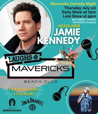 Comedy Night At Mavericks with Jamie Kennedy