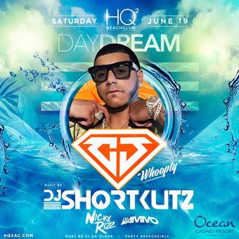 HQ2 Beachclub ft CJ and Shortkutz along with Nicky Rizz