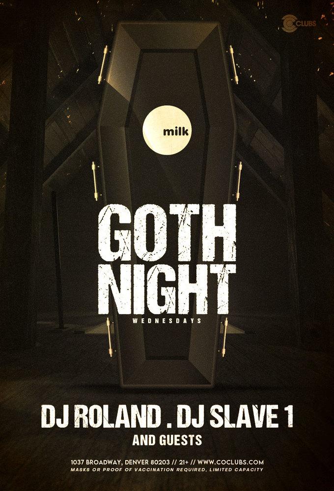 Goth Night Wednesdays at Milk Bar