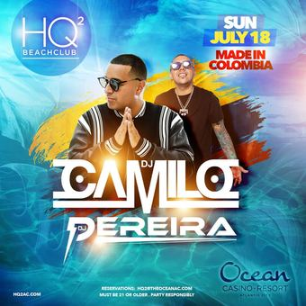HQ2 Beachclub: Made In Colombia
