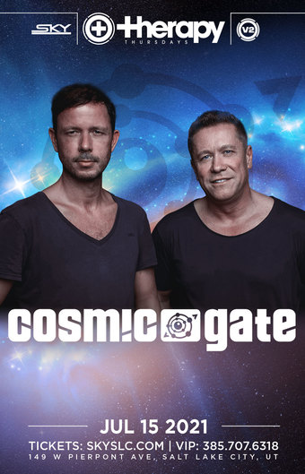 Therapy Thursdays :  Cosmic Gate