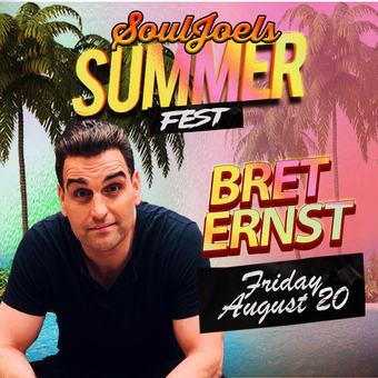 Bret Ernst headlines SoulJoel's Comedy Dome