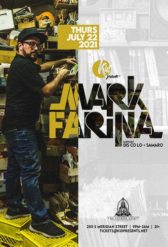 Mark Farina - Indianapolis