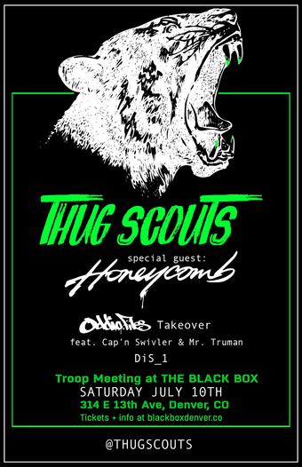 Thug Scouts w/ Honeycomb, Oddio.Files (Cap'n Swivler, Mr. Truman), DiS_1