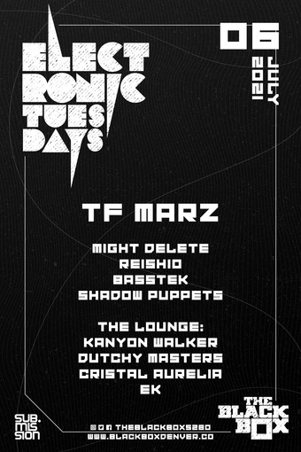 Sub.mission presents Electronic Tuesdays (June Winner's Showcase)