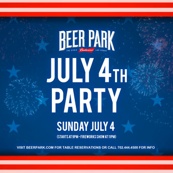 July 4th Party at Beer Park