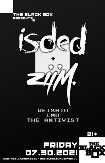 Widow + ZIIM w/ ReishiO, LMO, The Antivist