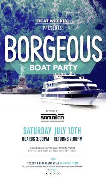 Borgeous Boat Party