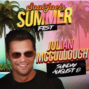Julian McCullough headlines at SoulJoel's Comedy Dome
