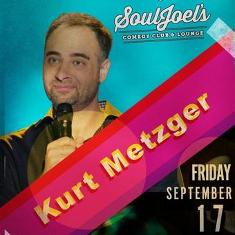 Kurt Metzger headlines SoulJoel's Comedy Dome