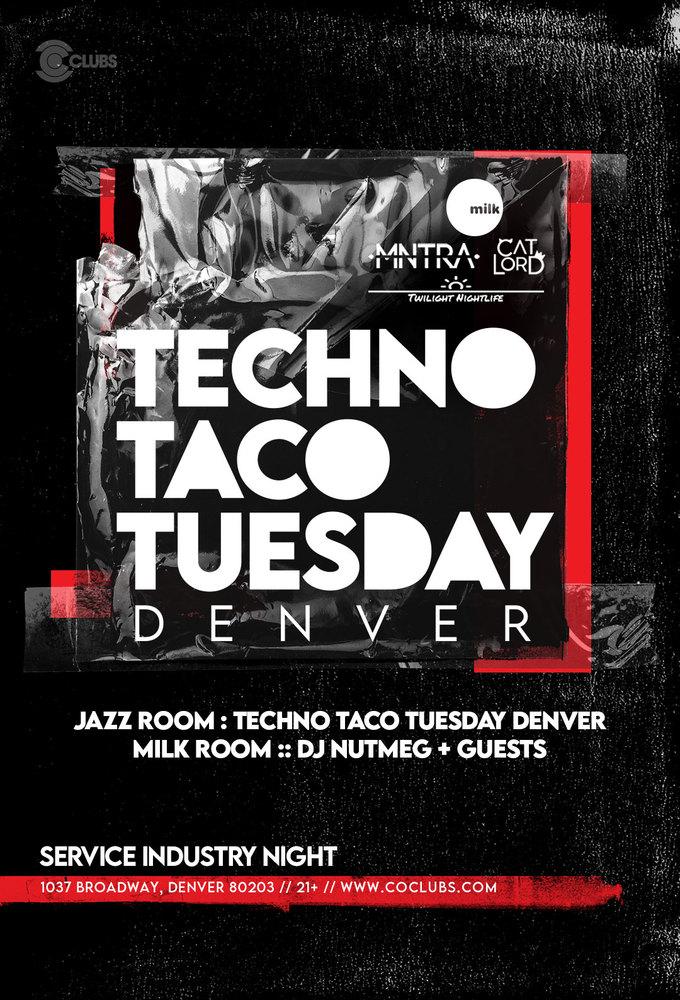 Techno Taco Tuesday Denver