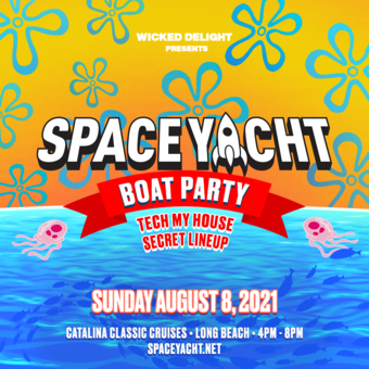 Space Yacht Boat Party Aug 2021