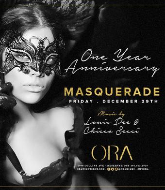 1 Year Anniversary Masquerade