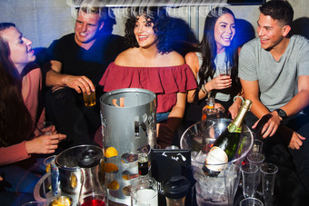 Inspire Nightclub Table Service