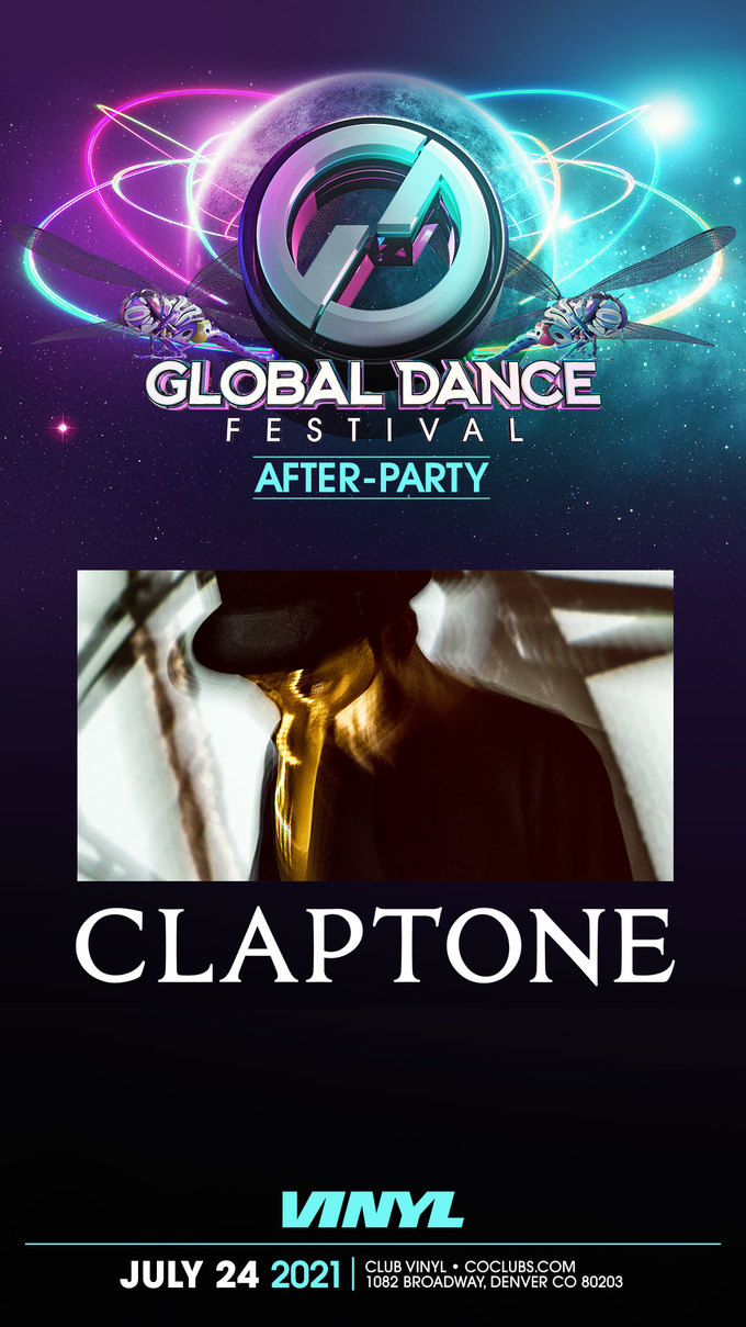 Global Dance Festival Afterparty: Claptone