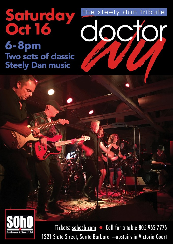 Dr. Wu - Playing The Music of Steely Dan!