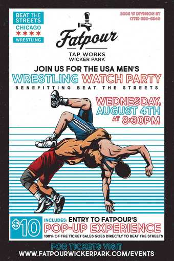 USA Men's Wrestling Watch Party Benefitting Beat The Streets