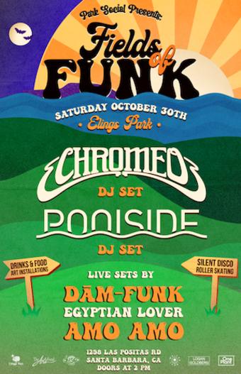 Fields of Funk Saturday 10.30.21 Doors at 3pm