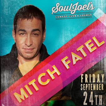 Mitch Fatel headlines SoulJoel's Comedy Dome